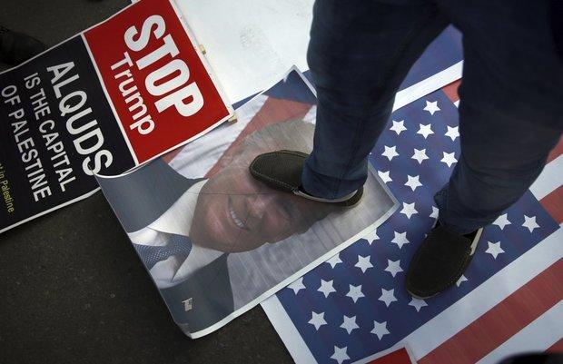 ترامپ و نتانیاهو در آتش+ تصاویر