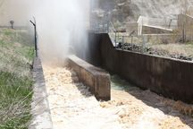 رهاسازی آب از سد شهرچایی به سمت دریاچه ارومیه آغاز شد