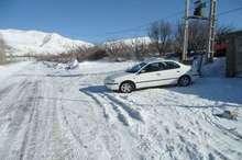 برف 20 روستای لاریجان آمل را سفیدپوش کرد