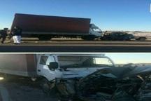 بر اثر سانحه رانندگی در خواف یک نفر کشته شد
