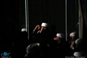 مجلس عزادارى شهادت حضرت صديقه طاهره(س) در بیت آيت الله دوستى زنجانى
