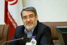 وزیر کشور: وضعیت شهر اهواز باثبات و پایدار است