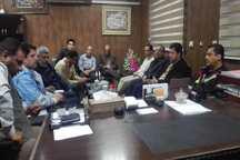 نشست مشترک دستگاههای امدادرسان کرمان و حمیدیه خوزستان برگزار شد