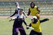 حضور ۸۰ دختر ورزشکار در جشنواره فریزبی قم