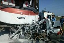 ۱۴ کشته و مجروح در سانحه رانندگی محور جنوب سیستان و بلوچستان