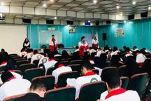 نجاتگران هلال احمر گیلان در آزمون تربیت مربی رقابت کردند