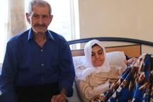 دردهای تلخ یک پدر و دختر جانباز