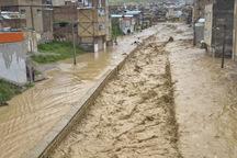 سیلاب به 1456 منزل مسکونی در استان قزوین خسارت زد