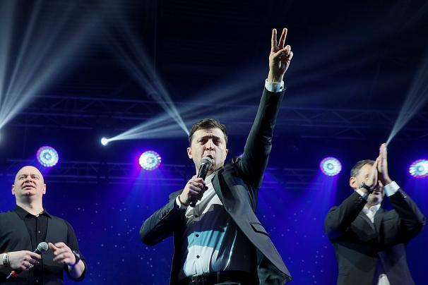 «ترامپ اوکراین» برنده دور نخست انتخابات ریاست جمهوری اوکراین شد+ عکس