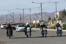 رژه موتوری نیروهای مسلح در جیرفت برگزار شد