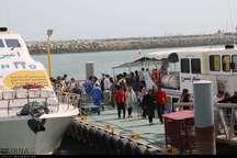 شمار مسافران نوروزی به قشم 17درصد افزایش یافت