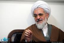 تماس تلفنی آیت الله العظمی بیات زنجانی با فاطمه کروبی
