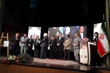«حمید حسام» و «جواد محقق» نویسندگان همدانی تجلیل شدند