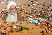 تاکید نماینده ولی فقیه گیلان به مسئولان استان جهت کمک رسانی به سیل زدگان