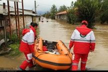هلال احمر خراسان شمالی یک قایق نجات به مراوه تپه اعزام کرد