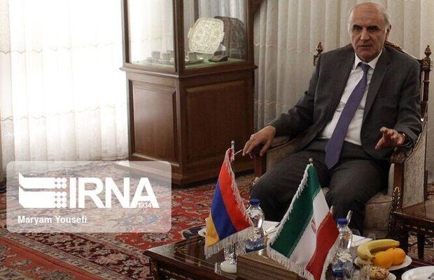 آمادگی ارمنستان برای ایجاد ارتباط تجاری بین ایران و اوراسیا