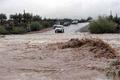 310 میلیمتر باران در قلعه رئیسی کهگیلویه بارید