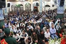 یادواره شهدای مدافع حریم اهل بیت در یزد برگزار شد