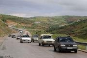 ترافیک در بیشتر نقاط جادههای مازندران پرحجم است