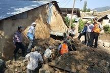 خسارت 420 میلیون ریالی سیل به روستای چالو ساری