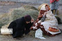 هوای سرد در مناطق زلزله زده آذربایجان شرقی حاکم میشود