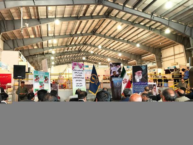 آغاز بکار نمایشگاه اقتصاد مقاومتی و صنایع تبدیلی شمالغرب کشور در ارومیه