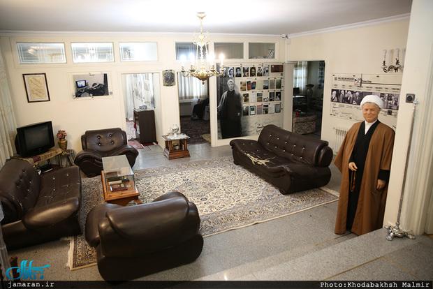 همه نکات جالب در مورد خانه-موزه آیت الله هاشمی رفسنجانی(ره)؛ روایت طرّاح