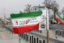 پرچم کنگره در گلزارهای شهدای قزوین برافراشته میشود