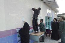2 گروه جهادی عازم روستای اسماعیل آباد زرندیه شدند