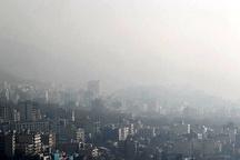 هوای پایتخت در آستانه شرایط ناسالم قرار گرفت