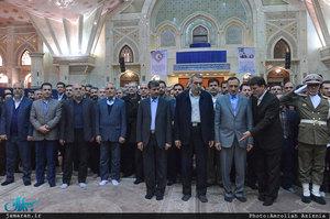 تجديد ميثاق وزير آموزش و پرورش، دانش آموزان و فرهنگيان با آرمان های حضرت امام(س)