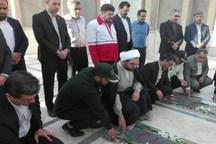 مدیران شهرستان مهریز به مقام شهدا ادای احترام کردند