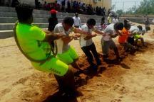 قهرمانی جشنواره بازی های بومی محلی خلیج فارس به هرمزگان رسید