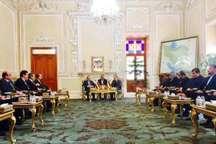 نخست وزیر سوریه با لاریجانی دیدار کرد