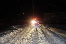 هلال احمر گلستان دیشب 80 شهروند را از برف وکولاک نجات داد