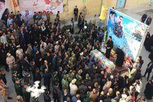 پیکر شهید مدافع حرم در گرگان تشییع شد