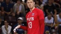 ستاره روسیه در لیگ ملتهای والیبال بازی نمیکند