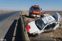 تصادف در مسیر ایرانشهر- نیکشهر سه کشته برجا گذاشت