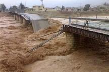 سیل به بخش هایی از شهرستان چالوس خسارت زد