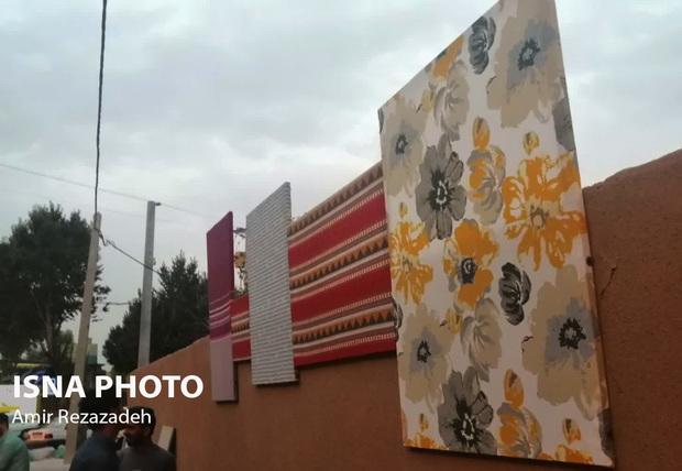 آغاز اولین گالری شهری با 1600 طرح پارچه در یزد