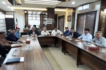 جلسهی رهاسازی آب سد کوثر، در امیدیه برگزار شد