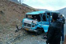 مینیبوس باز هم در مازندران حادثه ساز شد