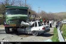 پنج کشته حاصل 2 سانحه رانندگی در همدان