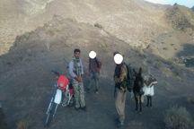 شکارچی حرفه ای در دام ماموران محیط زیست بم گرفتار شد