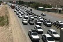 بیش از چهارمیلیون خودرو از جاده های همدان تردد کردند