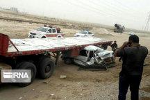 وضعیت تصادفات در جادههای روانسر بسیار نگرانکننده است