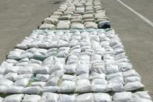 چهار تن انواع مواد مخدر در سرباز سیستان و بلوچستان کشف شد