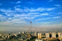 کیفیت هوای تهران با شاخص 64سالم است