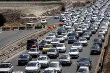 ترافیک در راه های البرز سنگین و پرحجم