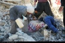 خسارت زلزله در منطقه فولادی سر پل ذهاب + تصاویر